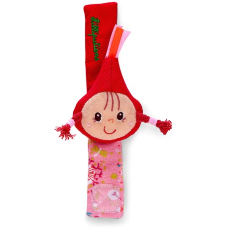 Pulsera sonajero de Caperucita Roja (Little red riding hood bracelet rattle)