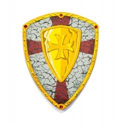 Escudo de caballero cruzado