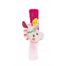 Pulsera sonajero de la unicornia Louise (Louise bracelet rattle)