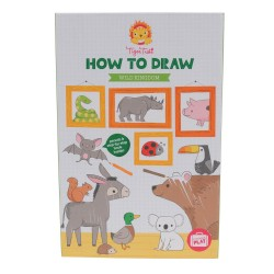 Como dibujar el reino animal salvaje (How to Draw Wild Kingdom)