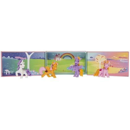 Tribu de unicornios con escenario