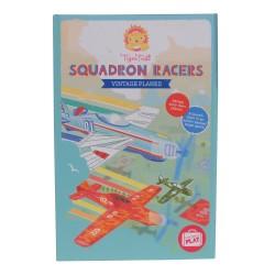 Aviones de los corredores del escuadrón Vintage (Squadron Racers Vintage Planes)
