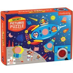 """Puzle """"el secreto del espacio"""" de 42 piezas"""