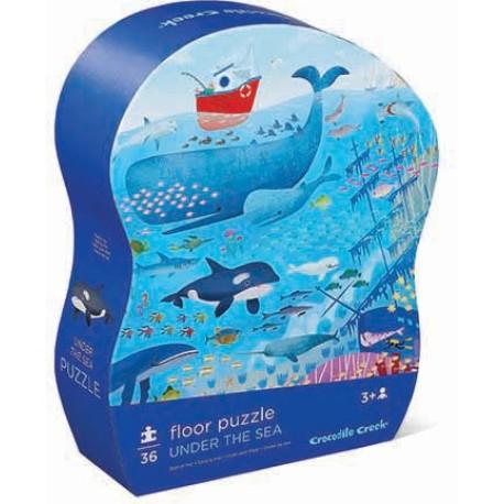 Puzle de 36 piezas Animales del mar