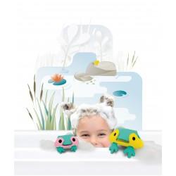 """Puzle 3D de baño de 6 piezas """"La rana"""""""