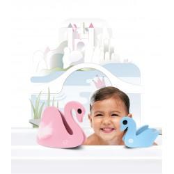 """Puzle 3D de baño de 6 piezas """"Cisne en el lago"""""""