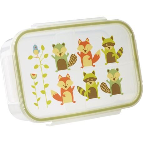 Fiambrera con 3 compartimentos What did the fox eat?