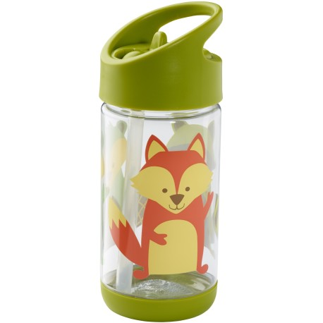 Botella infantil de Tritán What did the fox eat
