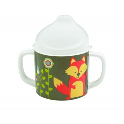 Taza con boquilla y asas What did the fox eat