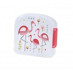 Fiambrera con 2 compartimentos Flamingo