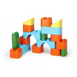 Bloques apilables de 18 piezas de plástico eco