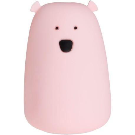 Lamparita de silicona Lil Bear rosa