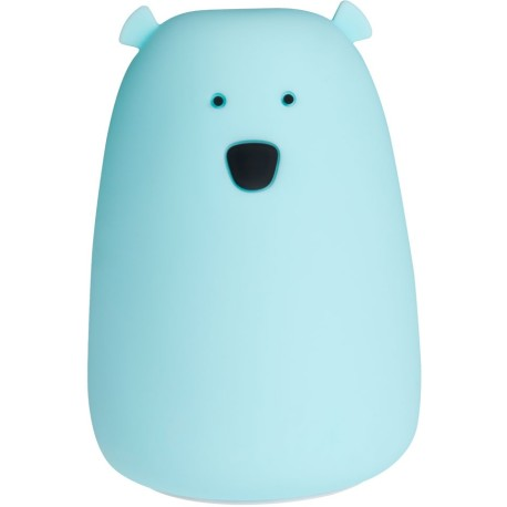 Lamparita de silicona Lil Bear Azul