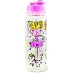 Botella infantil grande de tritán Bailarina