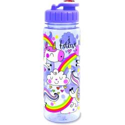Botella infantil grande de tritán Unicornio