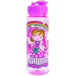 Botella infantil grande de tritán Princesa