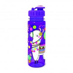 Botella infantil grande de tritán Llama