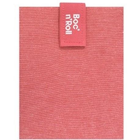 Porta bocadillos Boc'n'Roll square Rojo Eco