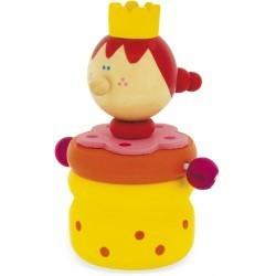 Caja de madera para guardar los dientes de una reina