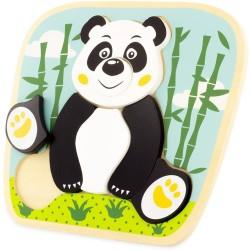 Puzle del panda de 8 piezas