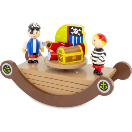 Caja musical de los piratas