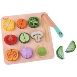 Puzle para cortar verduras