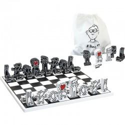 Juego de ajedrez Keith Haring