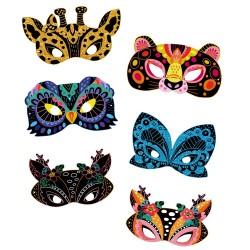 Set para crear máscaras de animales