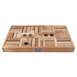 54 Bloques de construcción de madera