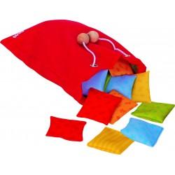 Memo de almohadas de colores