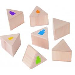 Memo de pesos de madera