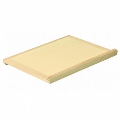 Tabla de madera para amasar pan