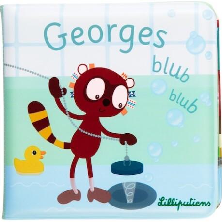 Libro para el baño «Georges blub blub» *