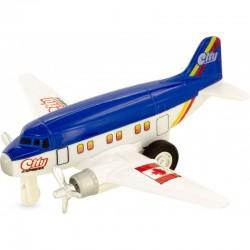 Avión sky liner azul