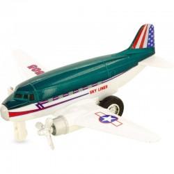 Avión sky liner verde