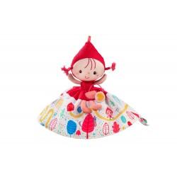 Marioneta reversible de la Caperucita roja, la abuelita y el lobo
