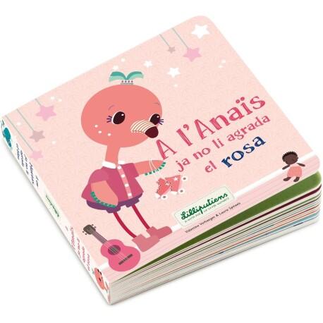 Llibre A l'Anaïs ja no li agrada el rosa