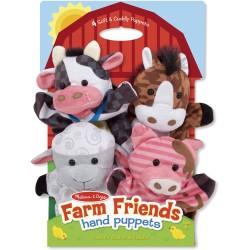 Marionetas de mano de la granja