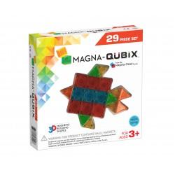 MAGNA-QUBIX de 29 piezas de construcción magnética