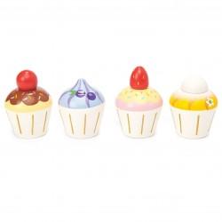 Set de 4 cupcakes