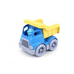 Camión de construcción de plástico eco azul/amarillo