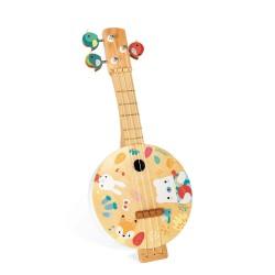 Banjo del bosque de madera