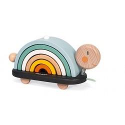 Tortuga arcoíris de arrastre Sweet Cocoon