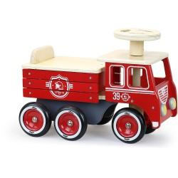 Correpasillos camión de bomberos
