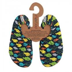 Zapatillas impermeables y antideslizantes con Peces de colores