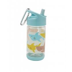 Botella infantil de Tritán del tiburón