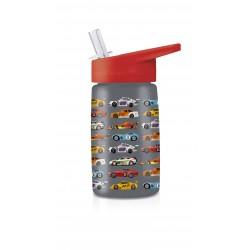 Botella infantil de coches de carreras de tritán