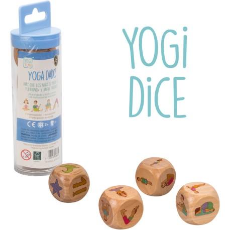 """Juego de dados y yoga """"Yogi Dice"""""""