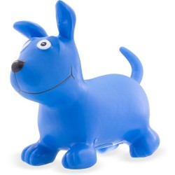 Perro Skippy azul