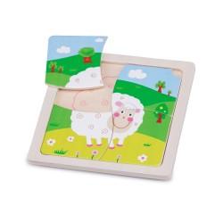 Mini puzle de la ovejita